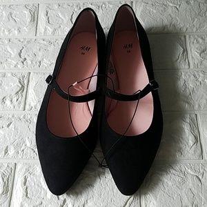 H&M Flats Shoes Mary Jane Size 7 Medium